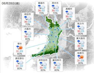 g20,大阪,台風,天気,28日