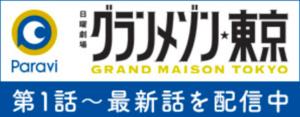 グランメゾン東京,paravi
