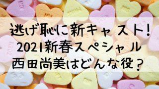 逃げ恥2021,新春スペシャル,西田尚美,新キャスト,ゲスト,逃げ恥sp,役どころ